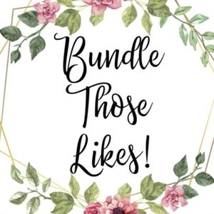 Bundle your likes and I'll send you an offer!